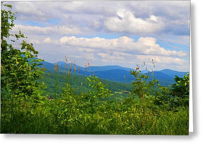 Catskill Mountain Hillside Greeting Card