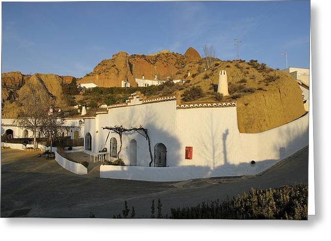 Cave Houses Greeting Card