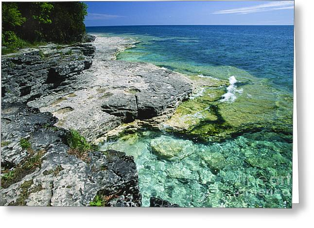 Cave Point Vista Greeting Card