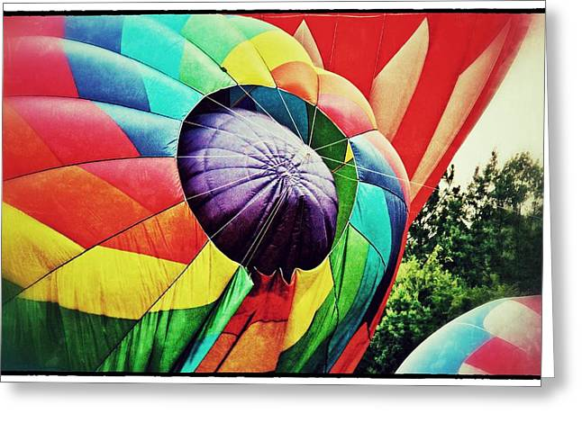Greeting Card featuring the photograph Celebrate America Balloon Fest 1 by Jim Albritton