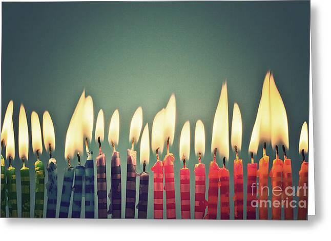 Celebrate Greeting Card by Catherine MacBride