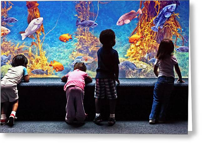 Celebrating Life Under The Sea  Greeting Card by Donna Pagakis