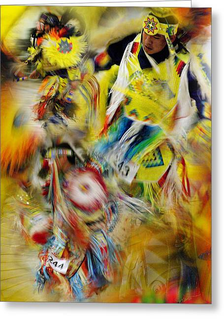 Greeting Card featuring the photograph Celebration Of Nations by Vicki Pelham