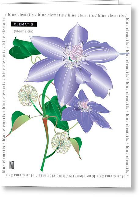 Celmatis Greeting Card
