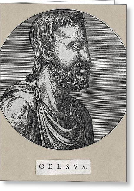 Celsus, Roman Philosopher Greeting Card