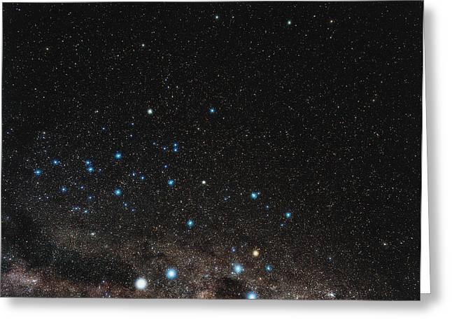 Centaurus Constellation Greeting Card by Eckhard Slawik
