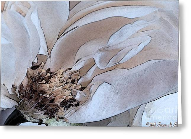 Centerfold Greeting Card by Susan Smith