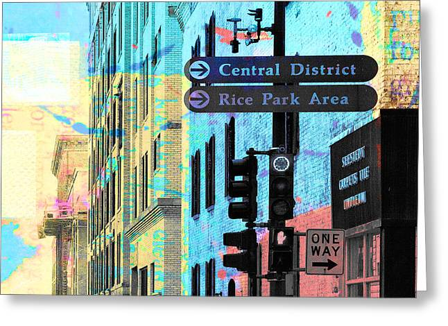 Central District Greeting Card