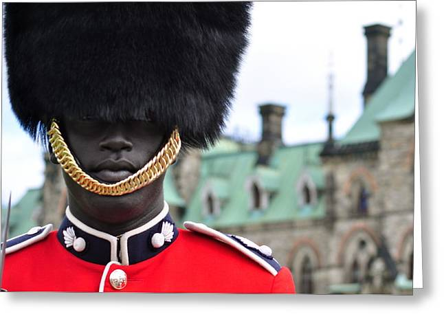 Ceremonial Guard Of The Canadian Forces Greeting Card