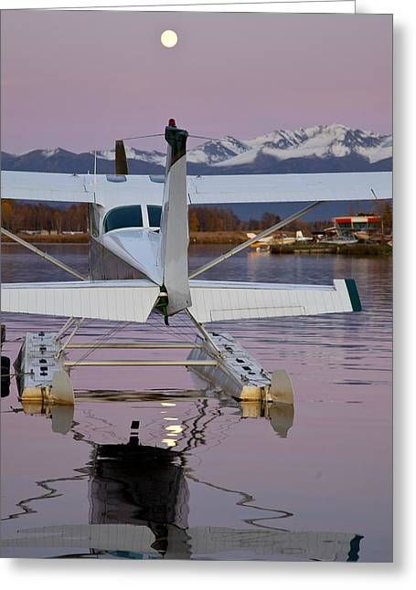 Cessna On Floats Greeting Card
