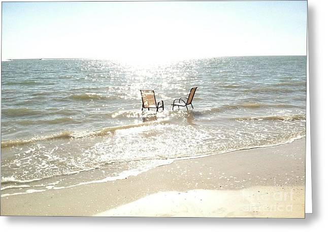 Chairs In Florida Greeting Card