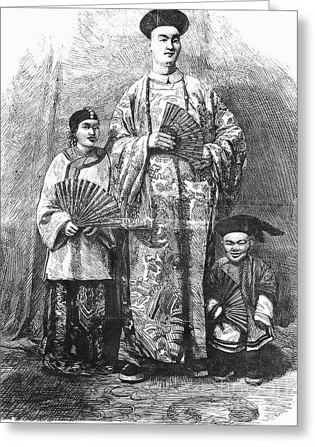Chang (c1840-1893) Greeting Card by Granger