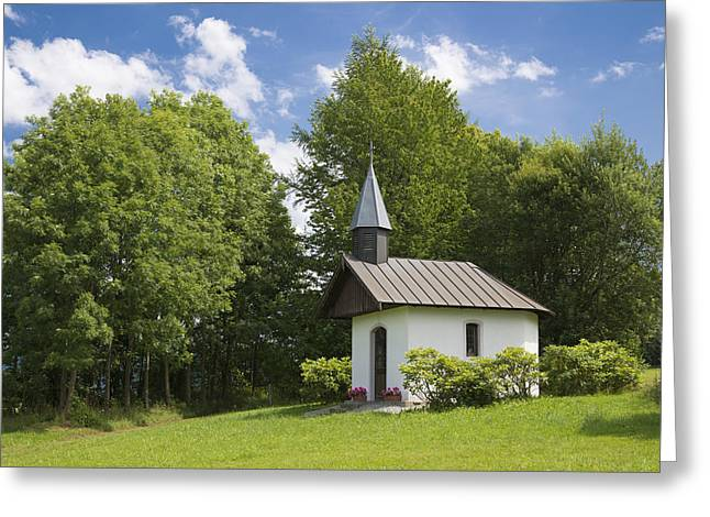 Chapel In Bavaria Germany Greeting Card