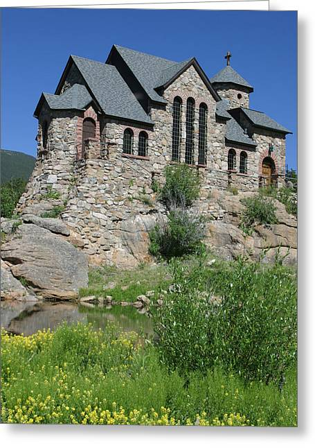 Chapel On The Rock Greeting Card