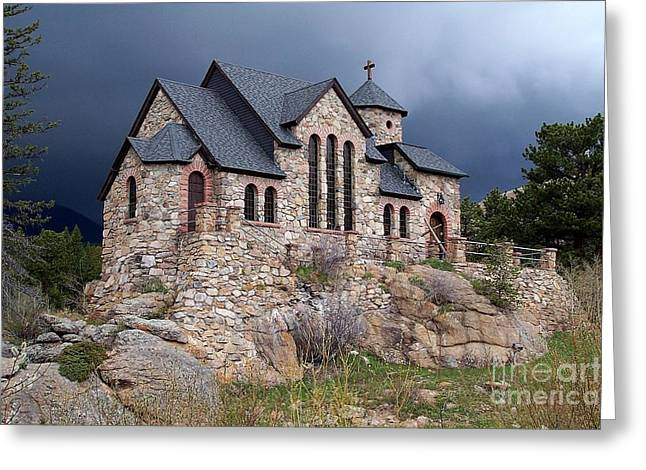 Chapel On The Rocks No. 1 Greeting Card