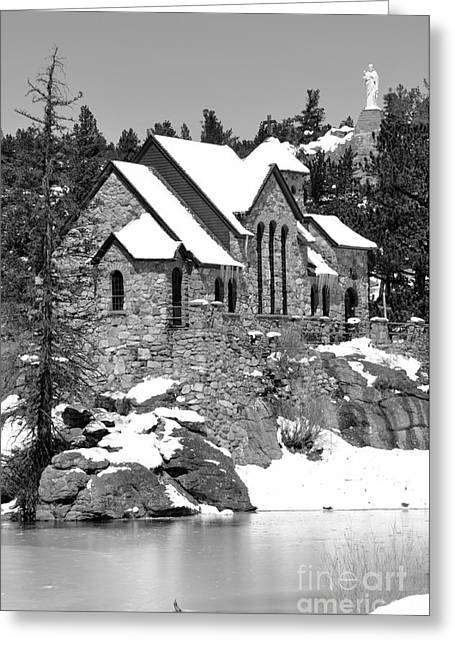 Chapel On The Rocks No. 2 Greeting Card