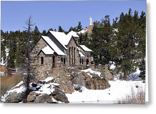 Chapel On The Rocks No. 3 Greeting Card