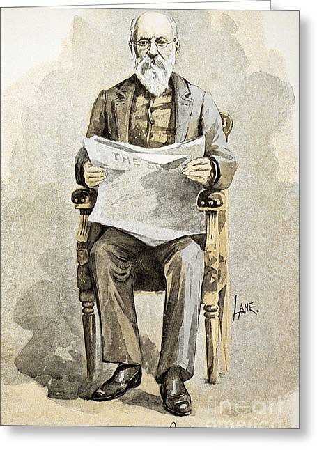 Charles Anderson Dana Greeting Card by Granger