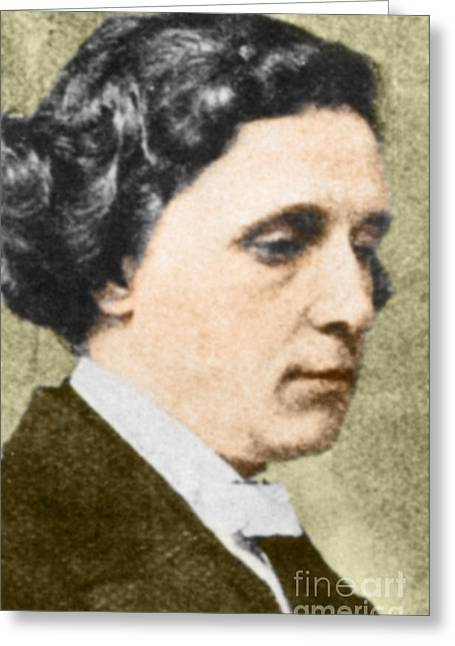 Charles Dodgson Aka Lewis Carroll Greeting Card by Science Source