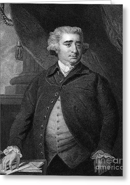 Charles Fox (1749-1806) Greeting Card by Granger
