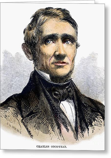 Charles Goodyear Greeting Card