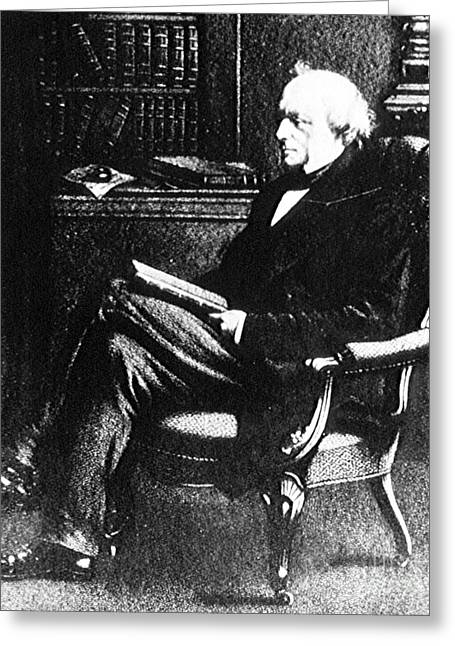 Charles Lyell, English Geologist Greeting Card by Science Source