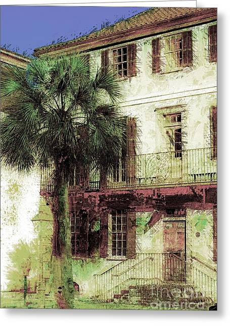 Charleston Homes Greeting Card