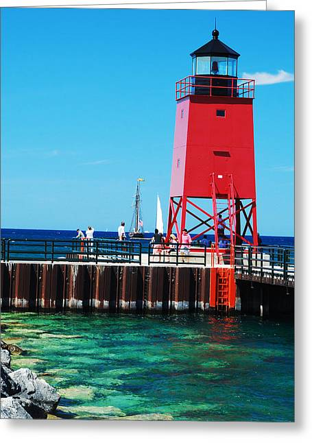Charlevoix Light Greeting Card