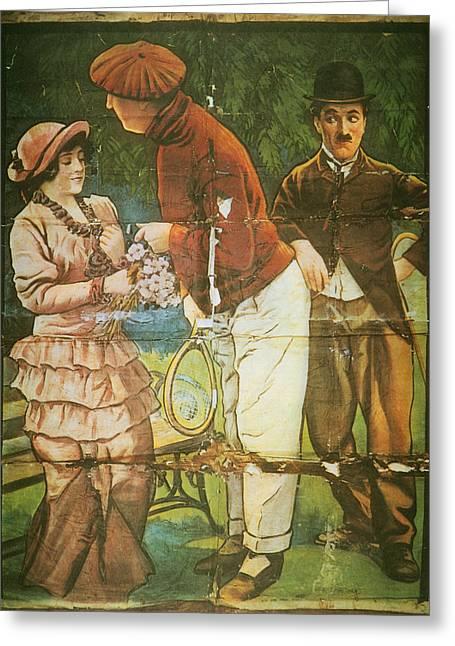 Charlie Chaplin Poster Greeting Card