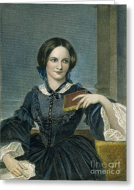 Charlotte Bronte Greeting Card by Granger