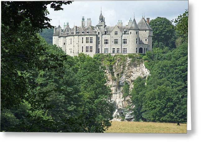 Chateau De Walzin Greeting Card by Joseph Hendrix
