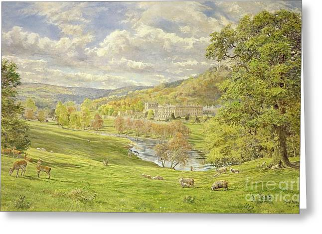 Chatsworth Greeting Card by Tim Scott Bolton