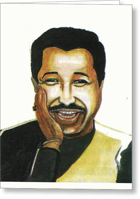 Cheb Khaled Greeting Card
