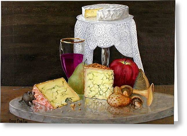 Cheese Delight Greeting Card