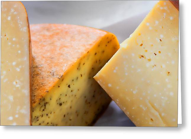 Cheese Display Greeting Card by Tony Grider
