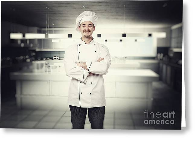Chef Portrait Greeting Card