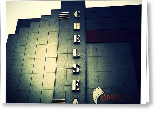 Chelsea Art Deco Greeting Card