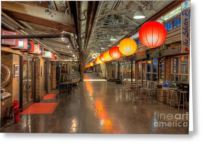 Chelsea Market II Greeting Card by Clarence Holmes