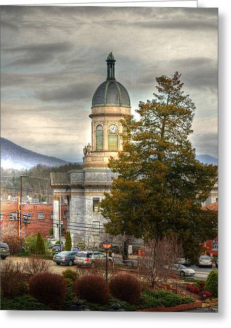 Cherokee County North Carolina Courthouse Greeting Card