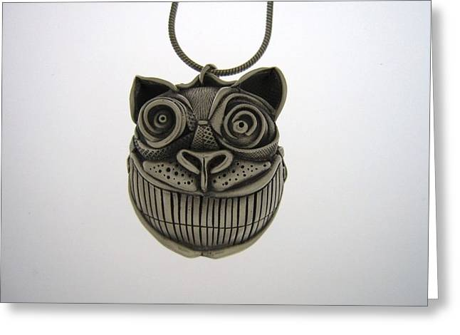 Cheshire Cat  Greeting Card by Michael Marx