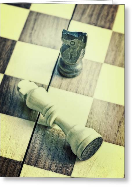 Chess Greeting Card by Joana Kruse