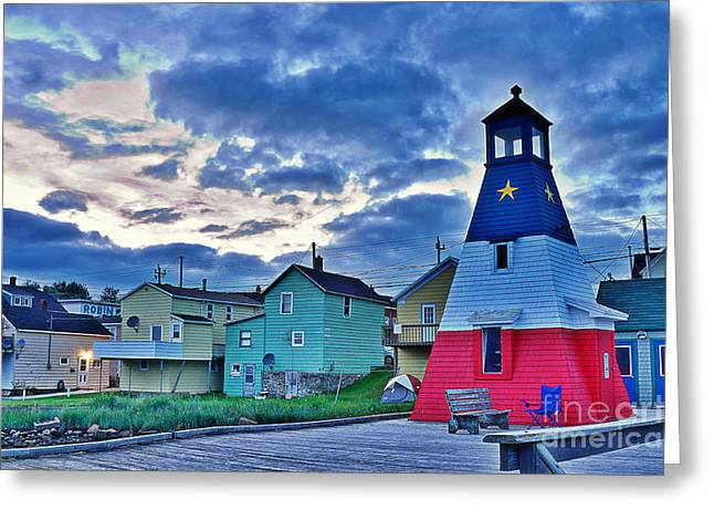 Greeting Card featuring the photograph Cheticamp In Cape Breton Nova Scotia by Joe  Ng