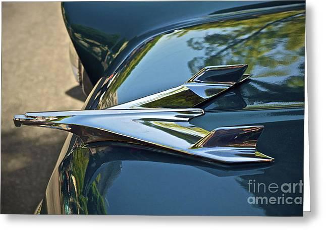 Chevrolet Bird Greeting Card by Gwyn Newcombe