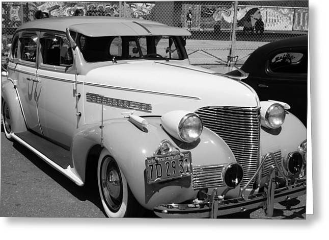 Chevy '39 Greeting Card