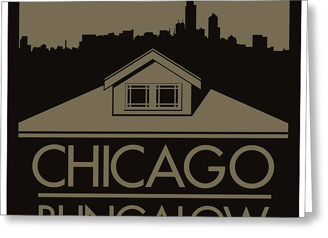 Chicago Bungalow Greeting Card