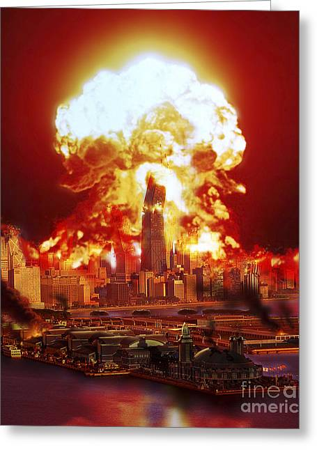 Chicago Disintegrates As A Nuclear Greeting Card