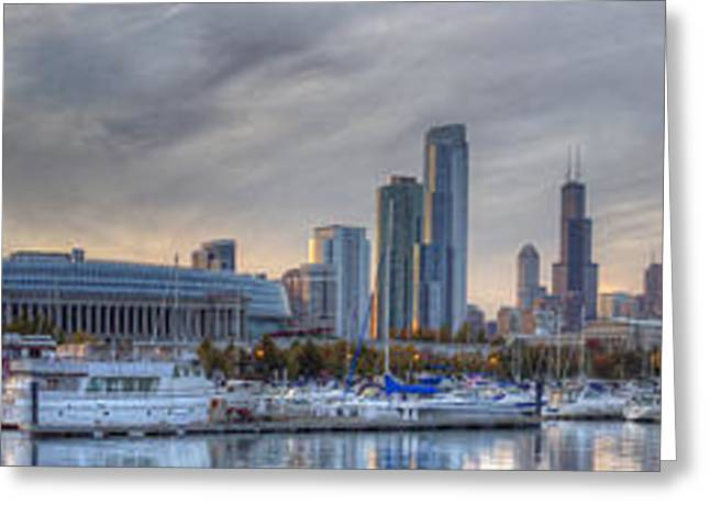 Chicago From Burnham Greeting Card