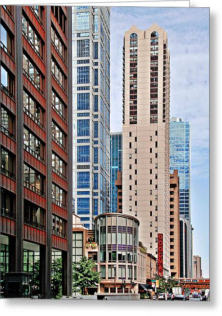 Chicago - Goodman Theatre Greeting Card by Christine Till