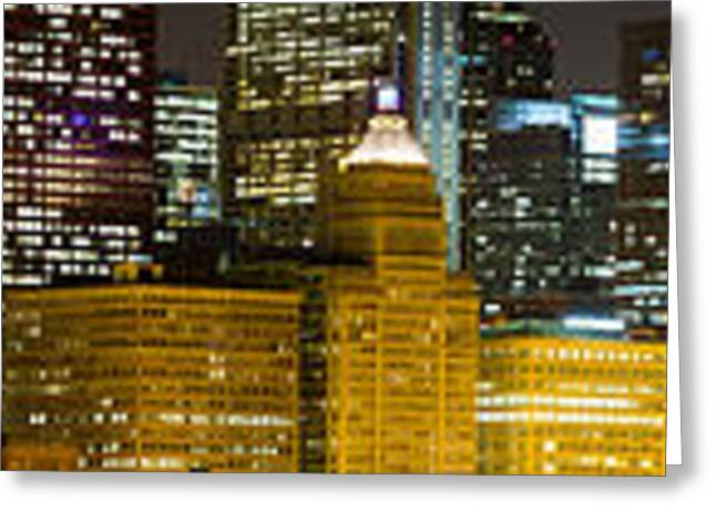 Chicago Lights Greeting Card by Twenty Two North Photography
