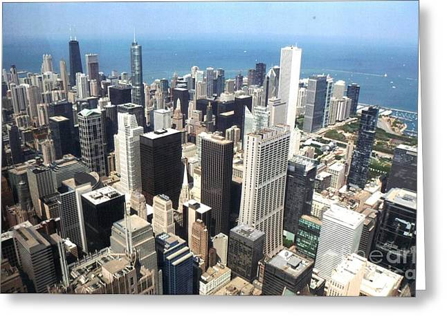 Chicago One Afternoon Greeting Card